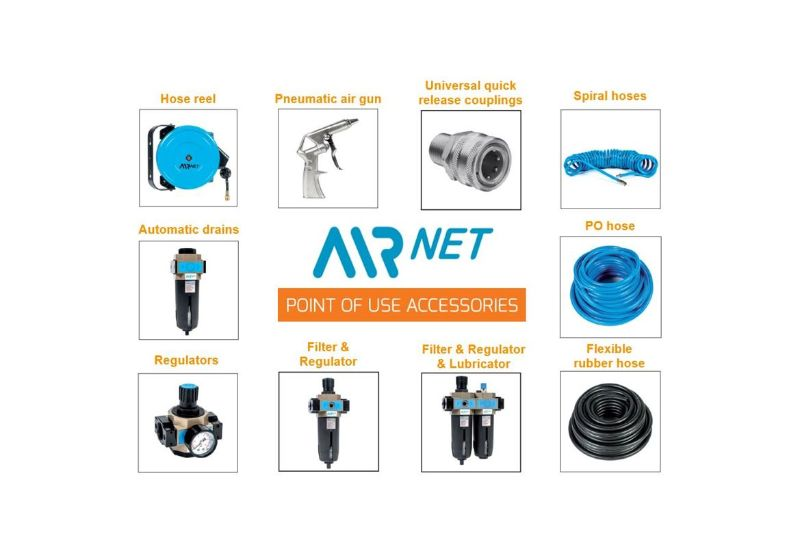 AIRnet Point of Use accessories - Alup Global